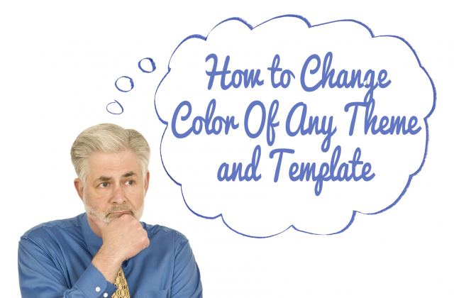 How to Change Color Of Any Theme and Template