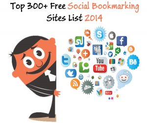 Top 300+ Free Social Bookmarking Sites List 2016