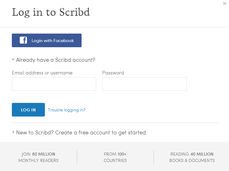 How to Download or view PDF and DOC files from Scribd n free