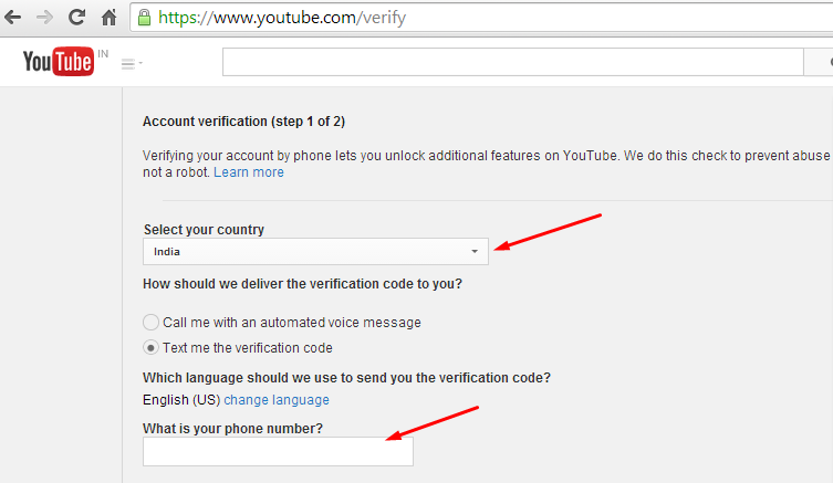 how to verify an account