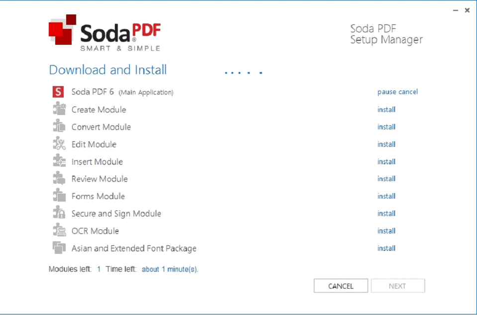 How to convert and store pdfs with soda pdf