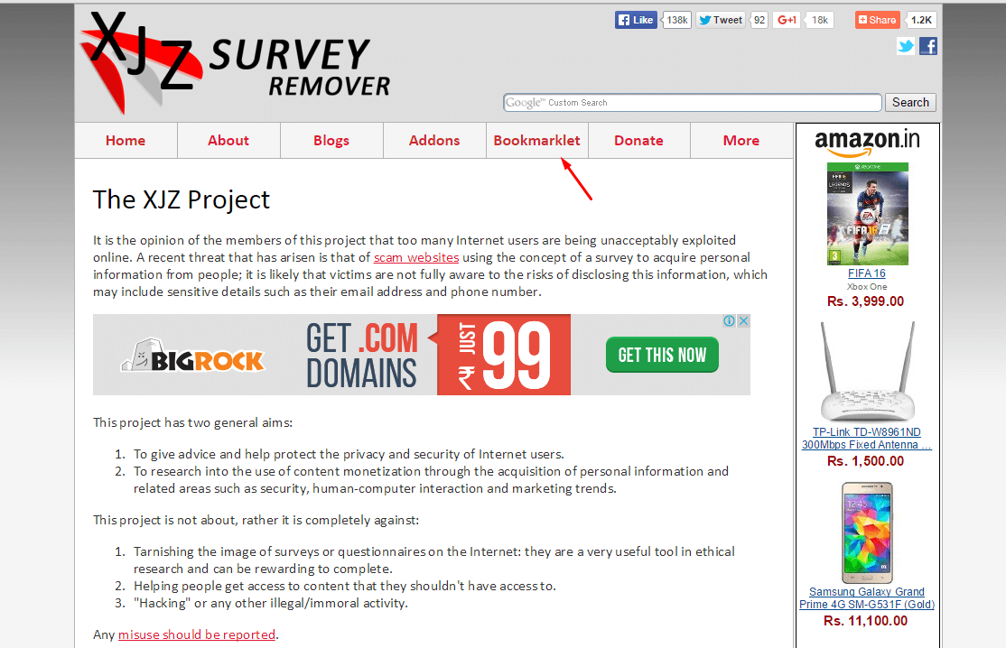 how to clear survey bypass